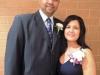 Inductee Nandi Cruz & wife Michele