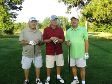 1A Amherst Eagles - Ron Kucbel, Jim Kucbel, George Berki