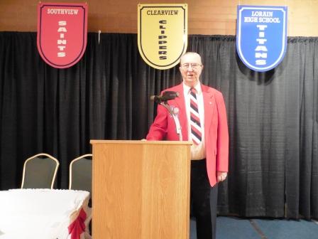 Bob Lesiecki, LSHOF Banquet Committee Chairman