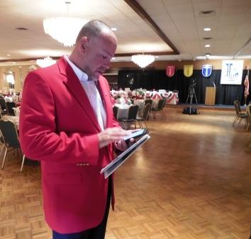 Bryan Koury, LSHOF Committee member and Lorain City Schools Athletic Director