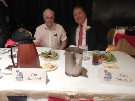 Coach Jim Macholl and Mike Bokulich
