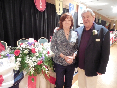 Frank Graziano, a 2015 LSHOF inductee, and his wife