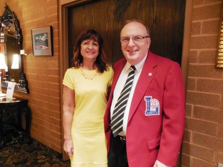 LSHOF Treasurer Bob Katricak and his wife