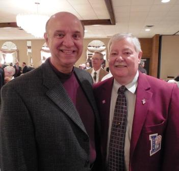 Lorain County Sheriff Phil Stammitti and LSHOF Committee member Dave Simpson