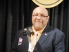 Enshrinee Gary Huff speaks after his induction 5.12.16