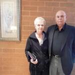 Gary & Phyllis Zakrajsek parents of team inductee Rick Zakrajsek