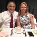 Inductee  Daniel Yurovich & wife, Becky