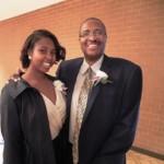 Inductee Eric Morrison & daughter, Kymberlee