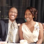 Inductee Eric Morrison with his daughter, Kymberlee