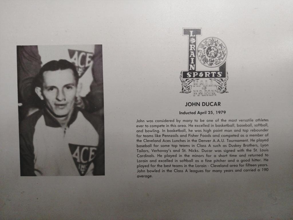 Ducar, John (Duke)