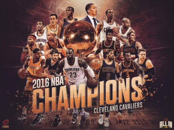 THANK YOU, CLEVELAND CAVALIERS!